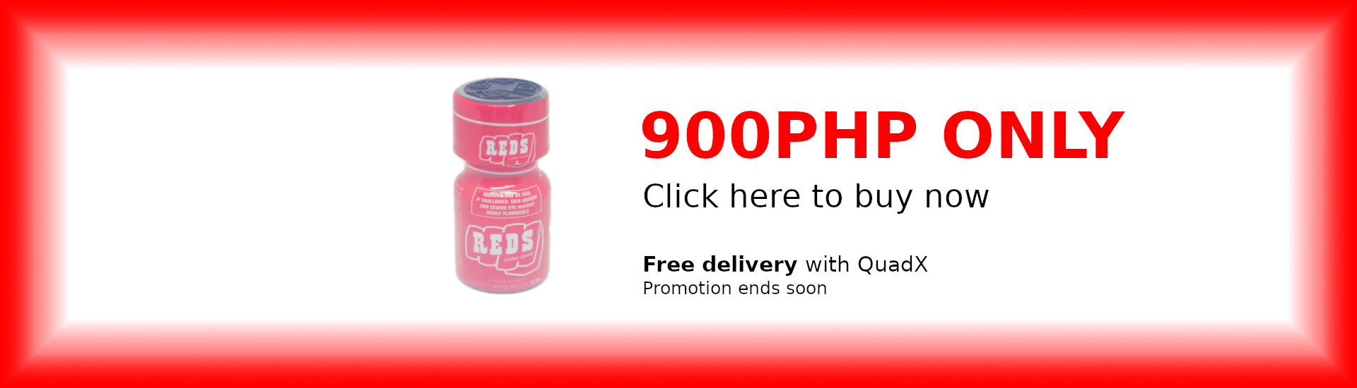 Reds Poppers For Only 900PHP